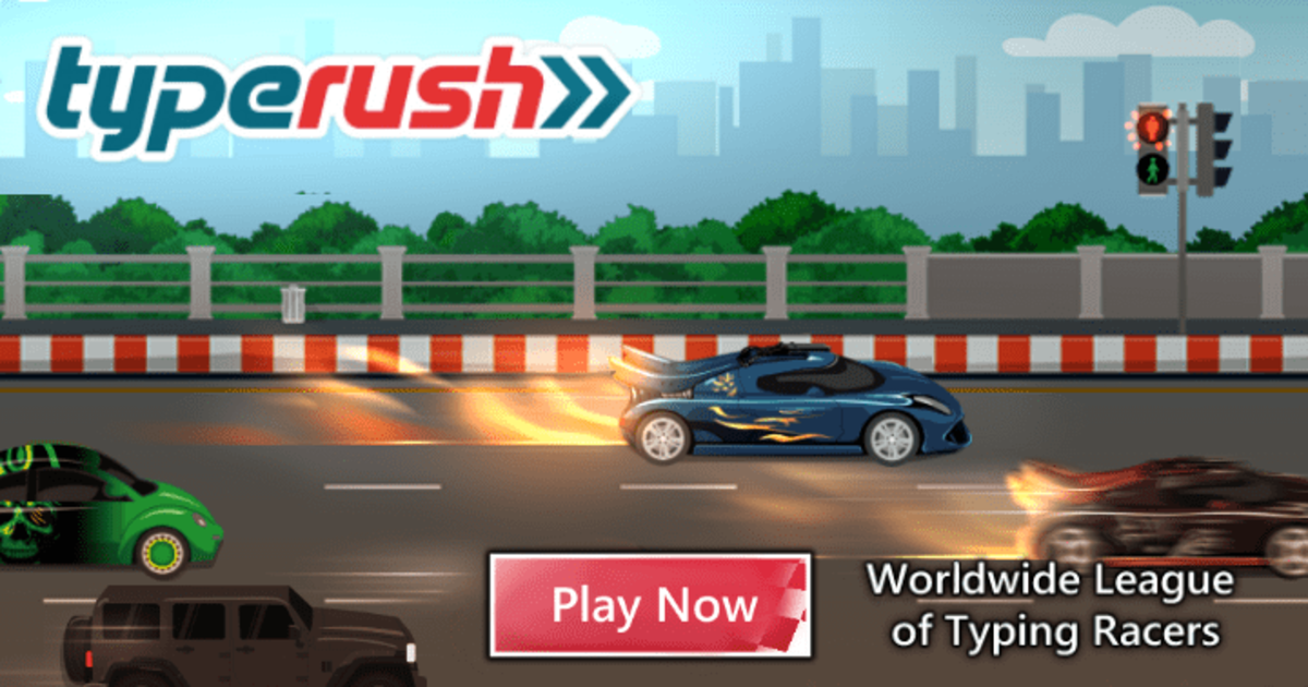 Type Rush Worldwide League Of Typing Racers